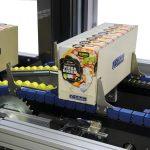 DRON, dron, DM Pack, end of line packaging, end of line, line packaging, DOM, verticle, vertical, carton erector