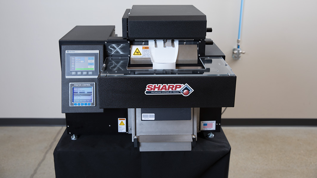 sharp, pregis, poly, bagger, automated, automatic, vde, SX, MAX20,LD, ESD based, VCI, Metallized, 3PL
